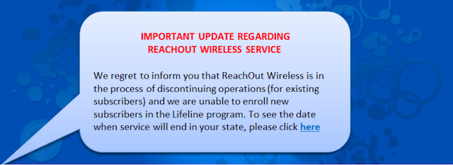 reachout wireless out of business